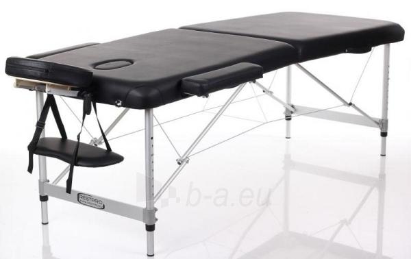 Masažo stalas RESTPRO Alu 2 Black L dydis - sudedamas Paveikslėlis 1 iš 4 310820040617