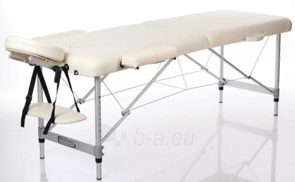 Masažo stalas RESTPRO Alu 2 Cream M dydis - sudedamas Paveikslėlis 1 iš 2 310820040624