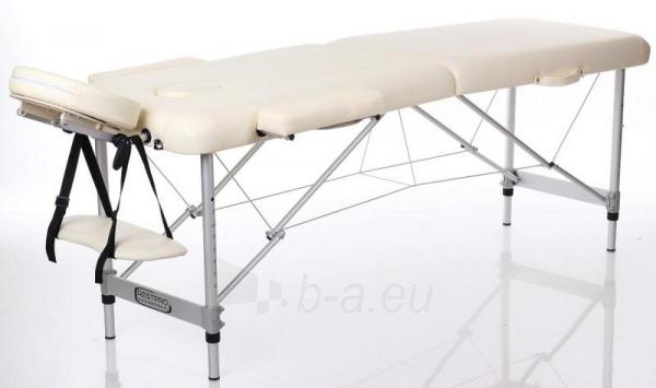 Masažo stalas RESTPRO ALU 2 Cream S dydis - sudedamas Paveikslėlis 1 iš 2 310820040620