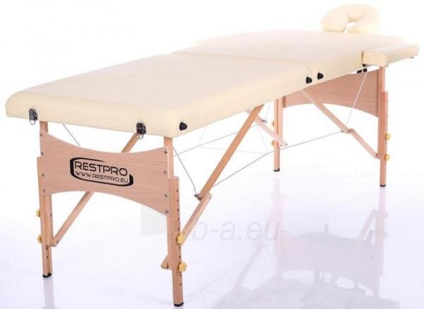 Masažo stalas RESTPRO Classic 2 Beige - sudedamas Paveikslėlis 1 iš 3 310820040655