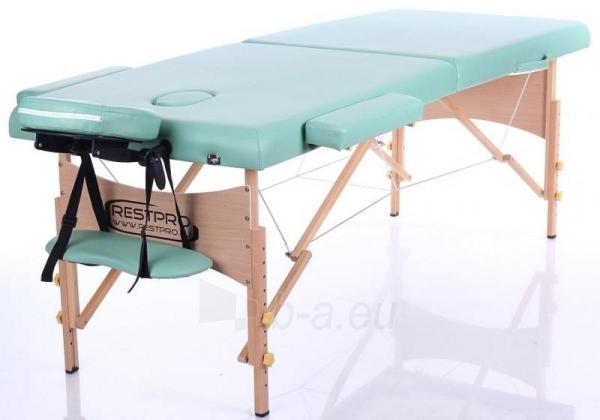 Masažo stalas RESTPRO Classic 2 Blue green - sudedamas Paveikslėlis 1 iš 3 310820040652
