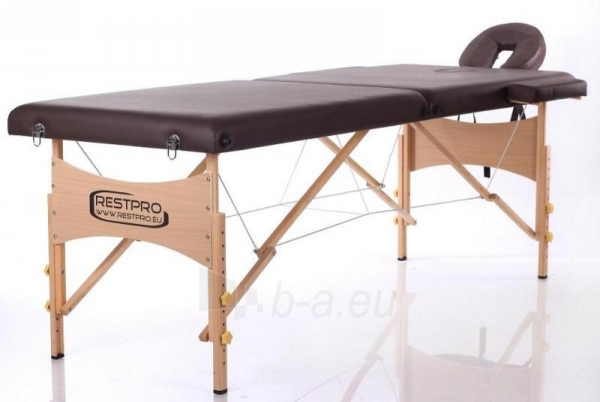 Masažo stalas RESTPRO Classic 2 Coffee - sudedamas Paveikslėlis 1 iš 3 310820040631