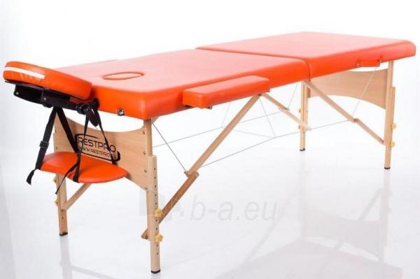 Masažo stalas RESTPRO Classic 2 Orange - sudedamas Paveikslėlis 1 iš 2 310820047265