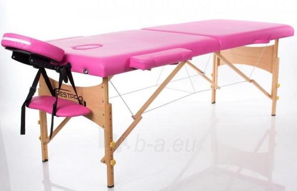 Masažo stalas RESTPRO Classic 2 Pink - sudedamas Paveikslėlis 1 iš 2 310820041033