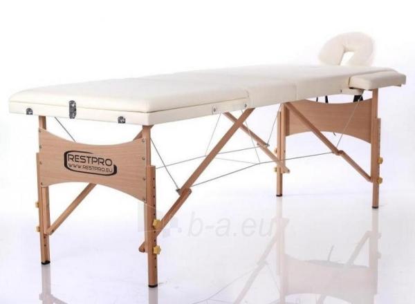 Masažo stalas RESTPRO Classic 3 Cream - sudedamas Paveikslėlis 1 iš 3 310820040628