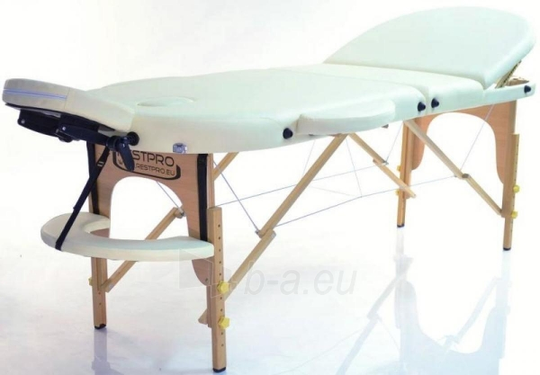 Masažo stalas RESTPRO Classic Oval 3 Cream - sudedamas Paveikslėlis 5 iš 5 310820040610