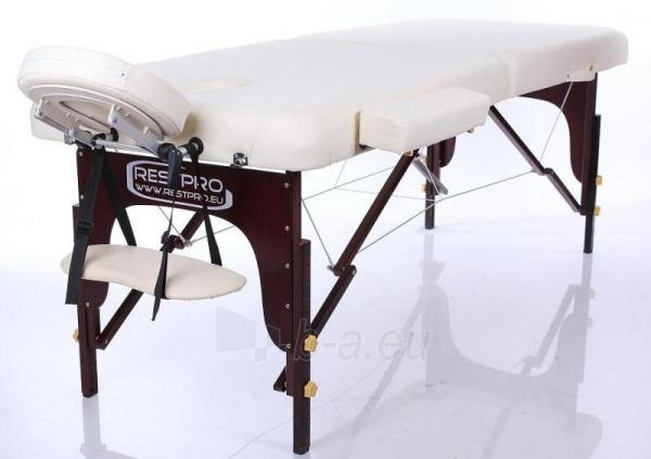 Masažo stalas RESTPRO VIP 2 Cream - sudedamas Paveikslėlis 1 iš 3 310820040649