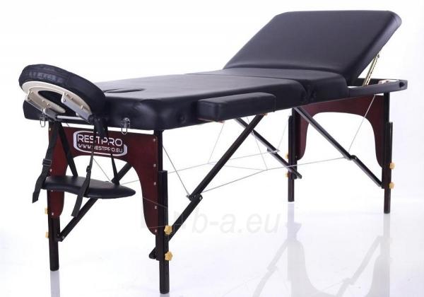 Masažo stalas RESTPRO VIP 3 Black - sudedamas Paveikslėlis 1 iš 3 310820040629