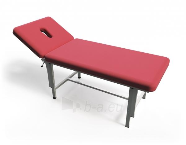 Masažo stalas TN-MTM-2, dviejų dalių, mechaninis Paveikslėlis 1 iš 4 310820041491