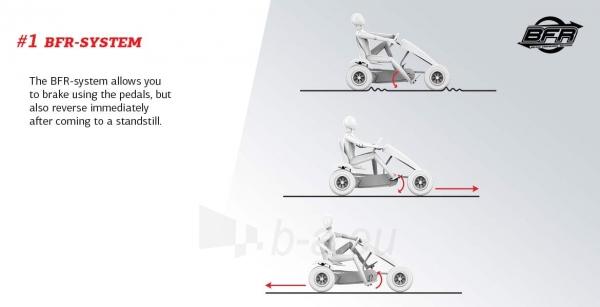 Mašinėlė GO-kartas Berg Race GTS BFR (iki 100kg) Paveikslėlis 4 iš 10 310820183438