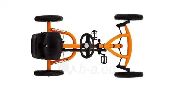 Mašinėlė vaikams 3-8m. Berg Buddy Orange (iki 50kg/130cm) Paveikslėlis 8 iš 10 310820176602
