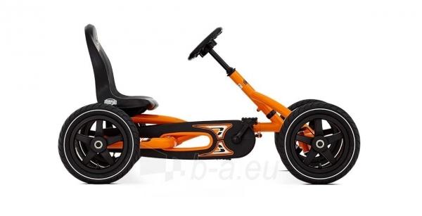 Mašinėlė vaikams 3-8m. Berg Buddy Orange (iki 50kg/130cm) Paveikslėlis 7 iš 10 310820176602