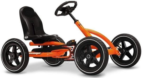 Mašinėlė vaikams 3-8m. Berg Buddy Orange (iki 50kg/130cm) Paveikslėlis 10 iš 10 310820176602