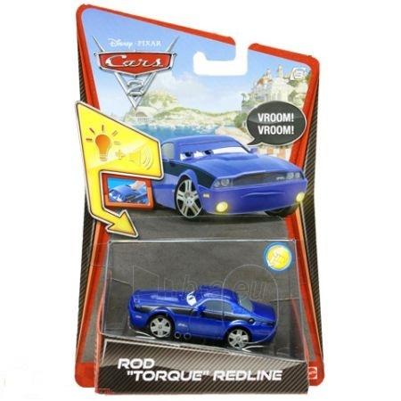 Mašinytė Mattel V2868 (V2867,V2863,V3615) Disney Cars LIGHTNING McQUEEN and FRANCESCO BERNOULLI CLIFFSIDE CHALLENGE Paveikslėlis 1 iš 1 250710800344