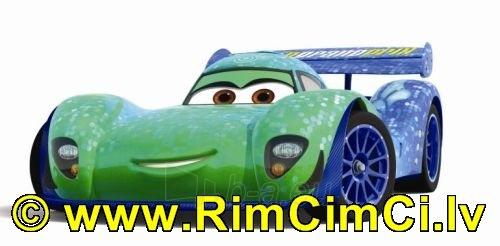 Mašinytė Mattel V2868 (V2867,V2863,V3615) Disney Cars LIGHTNING McQUEEN and FRANCESCO BERNOULLI CLIFFSIDE CHALLENGE Paveikslėlis 1 iš 2 250710800358