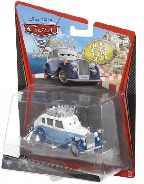 Mašinytė Mattel V2868 (V2867,V2863,V3615) Disney Cars LIGHTNING McQUEEN and FRANCESCO BERNOULLI CLIFFSIDE CHALLENGE Paveikslėlis 1 iš 2 250710800373