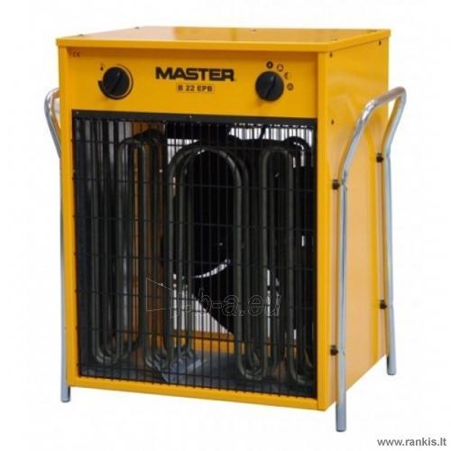 MASTER B 22 EPB elektrinis šildytuvas Paveikslėlis 1 iš 1 310820054616