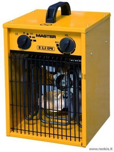 MASTER B 3.3 EPB elektrinis šildytuvas / 3 kW Paveikslėlis 1 iš 1 310820054742