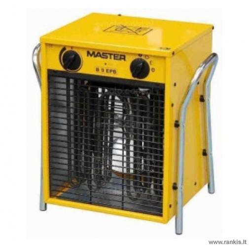 Master B 8,8 EPB DIY elektrinis šildytuvas Paveikslėlis 1 iš 1 310820054545