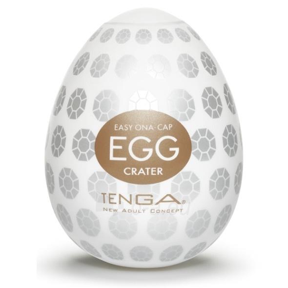 Masturbatorius Tenga egg Krateris Paveikslėlis 1 iš 3 310820006047