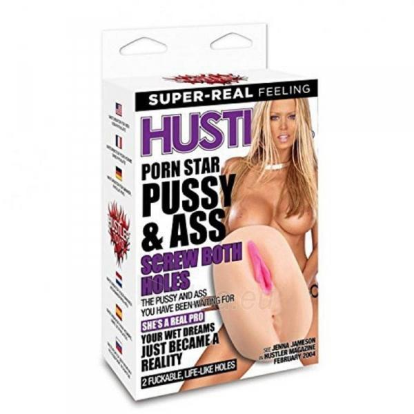 Masturbuoklis HUSTLER-PORN STAR PUSSY & ASS Paveikslėlis 3 iš 3 310820166297