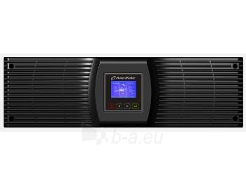 Matinimo šaltinis UPS Power Walker On-Line 6000VA, 19 3U,4x IEC,2x C19,RJ11/RJ45, USB/RS-232,LCD Paveikslėlis 1 iš 5 310820015925