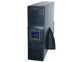 Matinimo šaltinis UPS Power Walker On-Line 6000VA, 19 3U,4x IEC,2x C19,RJ11/RJ45, USB/RS-232,LCD Paveikslėlis 4 iš 5 310820015925