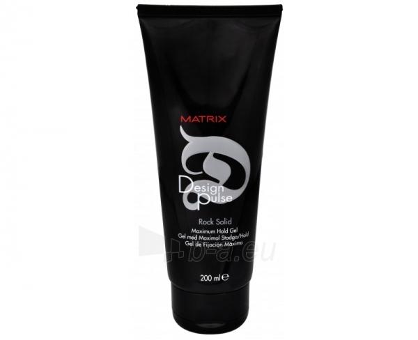 Matrix Design Pulse Rock Solid Hold Gel Cosmetic 200ml Paveikslėlis 1 iš 1 250832500239