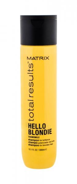 Matrix Total Results Hello Blondie Chamomile Shampoo Cosmetic 300ml Paveikslėlis 1 iš 1 250830101360