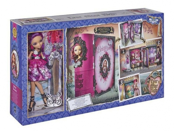 Mattel Ever After High кукла Briar Beauty + Книга - дом BJH55 Paveikslėlis 1 iš 2 310820049213