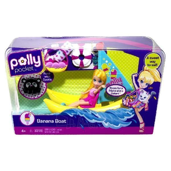Mattel Polly Pocket Banana Boat T9434 / V3239 Paveikslėlis 1 iš 1 250710900871
