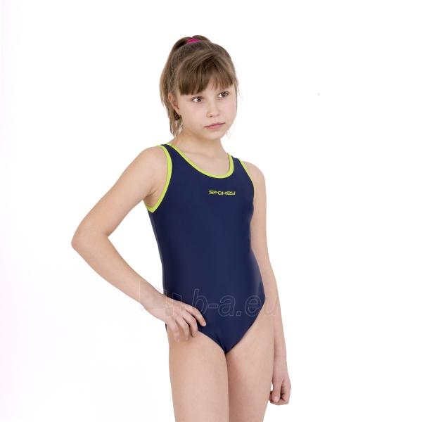 Maudymosi kostiumėlis mergaitei Spokey JAWA JR dark purple Paveikslėlis 3 iš 5 310820004695