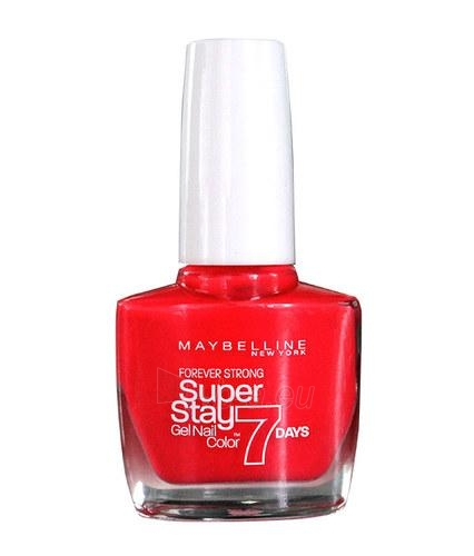 Maybelline Forever Strong Super Stay 7 Days Nail Color 10ml 625 Forevermore Green Paveikslėlis 1 iš 1 250874000405