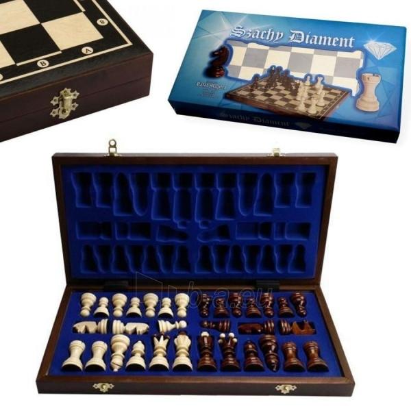 Mediniai šachmatai Magiera Diamond 43,5 x 44cm Paveikslėlis 1 iš 2 310820004115