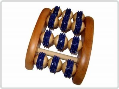 Medinis pėdos masažuoklis vienai pėdai Paveikslėlis 1 iš 1 310820217788