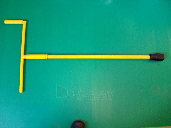 Medsraigčių raktai su kvadratine galvute 24x24 mm Paveikslėlis 1 iš 1 301160000005