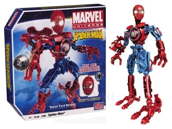 Mega Bloks 2086 Robots Spiderman Superherojus Paveikslėlis 1 iš 1 250710600063