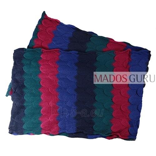 Knitted scarf MSL850 Paveikslėlis 2 iš 3 30063100734