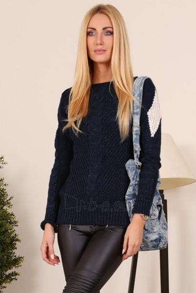 Megztinis Amber (tamsiai mėlynos spalvos) Paveikslėlis 1 iš 3 310820032777