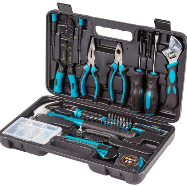 Meistro įrankių rinkinys BORT BTK-160 Paveikslėlis 1 iš 4 310820241033
