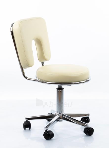 Meistro kėdė RESTPRO® Round 4 beige Paveikslėlis 2 iš 7 310820218613