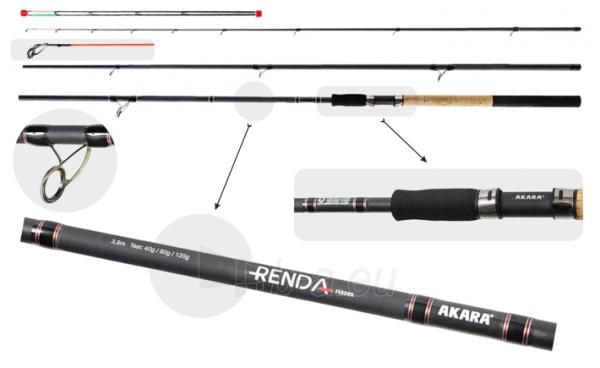 Meškerė AKARA RENDA Feeder TX-20 40-80-120G 360cm Paveikslėlis 1 iš 1 310820224692