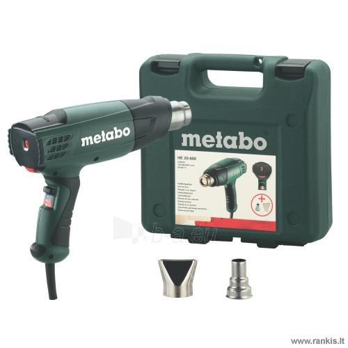 METABO HE 20-600 techninis fenas Paveikslėlis 1 iš 1 310820051040