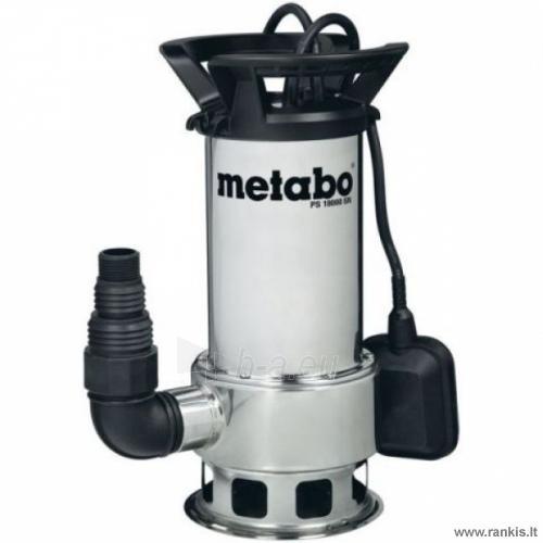 METABO PS 18000 SN vandens-purvo siurblys Paveikslėlis 1 iš 1 310820054559