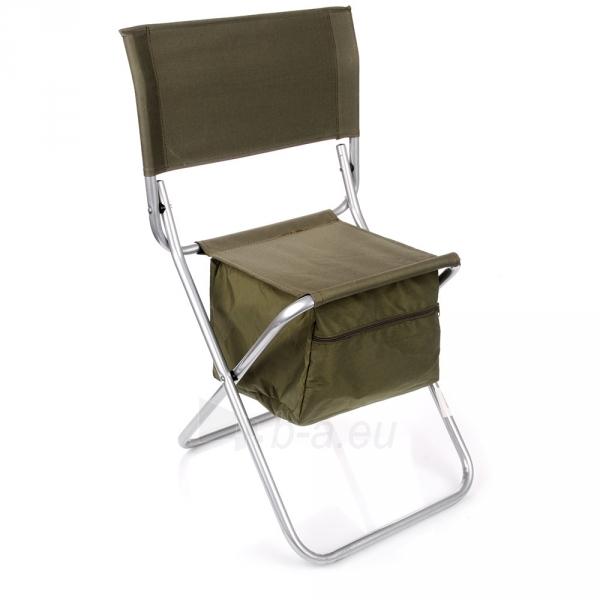 Metalinė sulankstoma kėdė su krepšiu Paveikslėlis 2 iš 5 310820091313