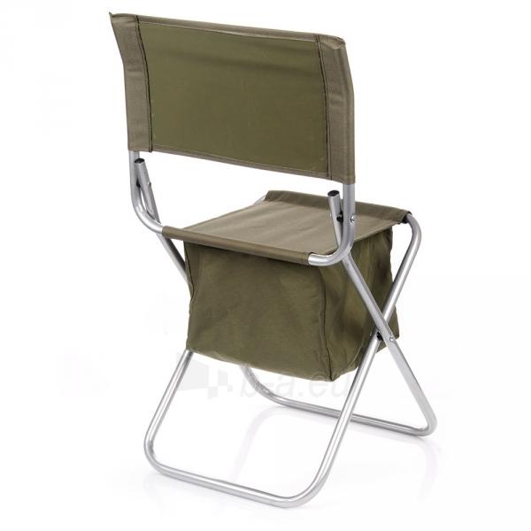 Metalinė sulankstoma kėdė su krepšiu Paveikslėlis 3 iš 5 310820091313