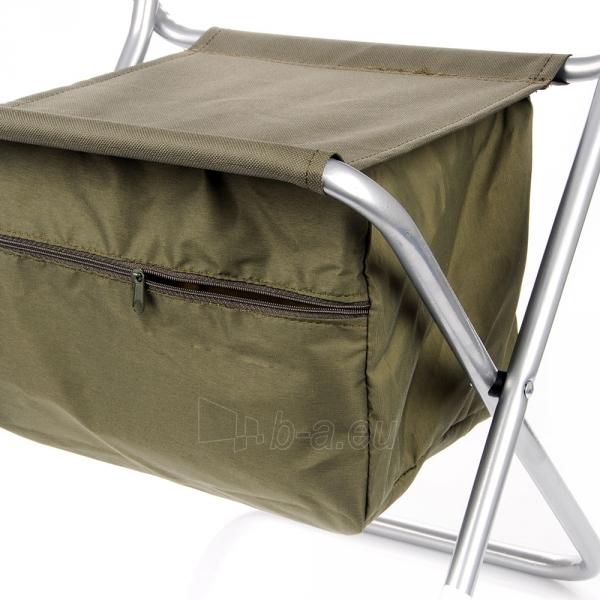 Metalinė sulankstoma kėdė su krepšiu Paveikslėlis 5 iš 5 310820091313