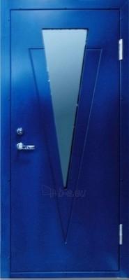 Metal door 960x2060mm, armored, Umidax board, external Paveikslėlis 1 iš 4 237930200026