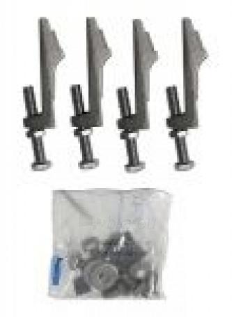 Metalinės kojos voniai ROCA MALIBU Paveikslėlis 1 iš 1 270717000188