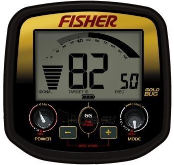 "Metalo detektorius Fisher Gold Bug DP 11"" DD Paveikslėlis 2 iš 2 250530800038"